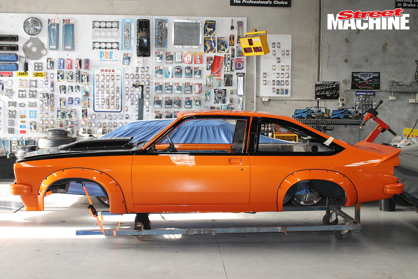 LX Torana Hatch Build 7 Nw