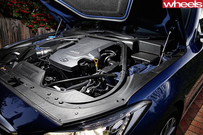 Hyundai -Genesis -engine -Telford