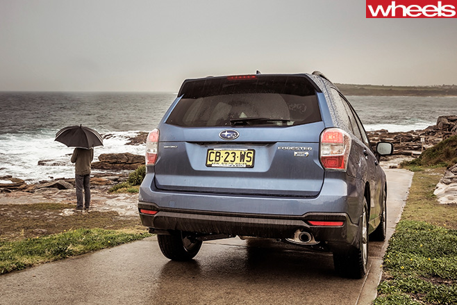 Subaru -Forester -Long -term -test -rear