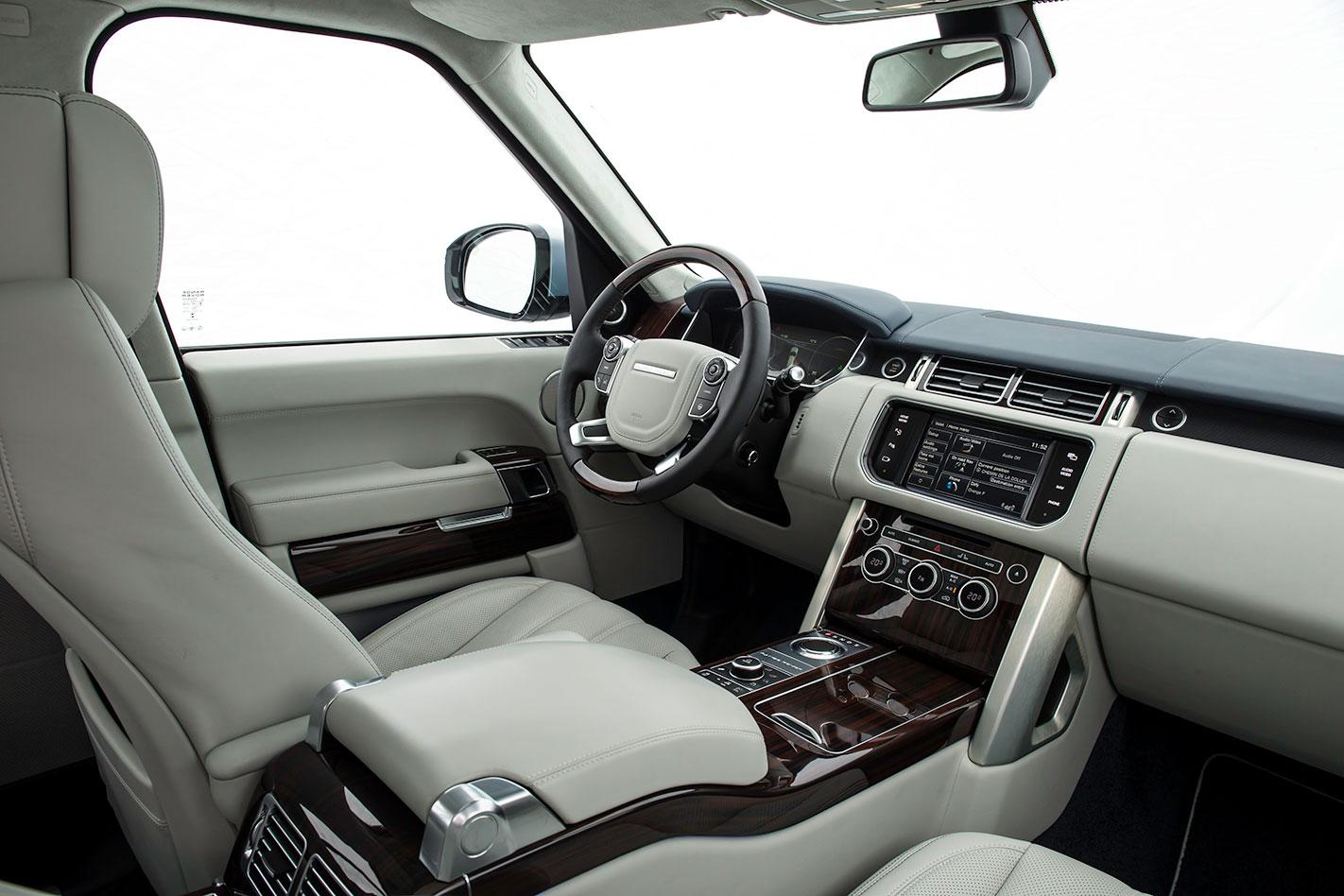 Range -Rover -SDV6-Hybrid -interior