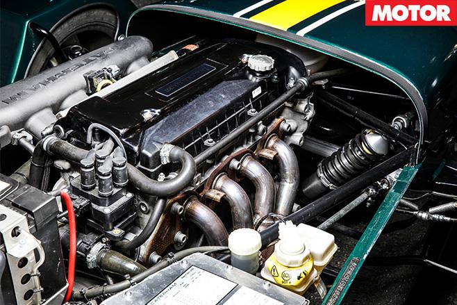 Caterham CSR 175 engine