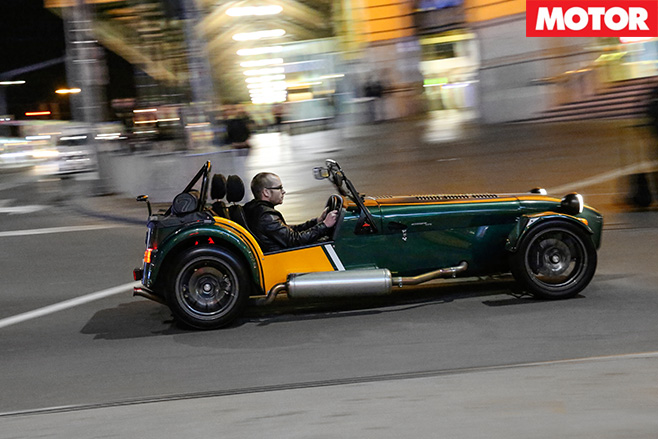 Caterham CSR-175 side
