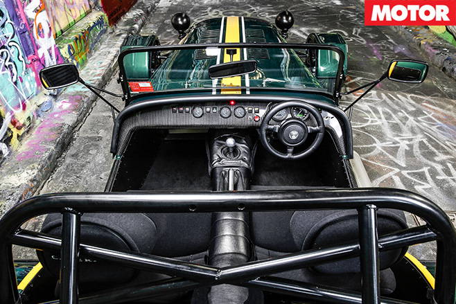 Caterham CSR 175 interior