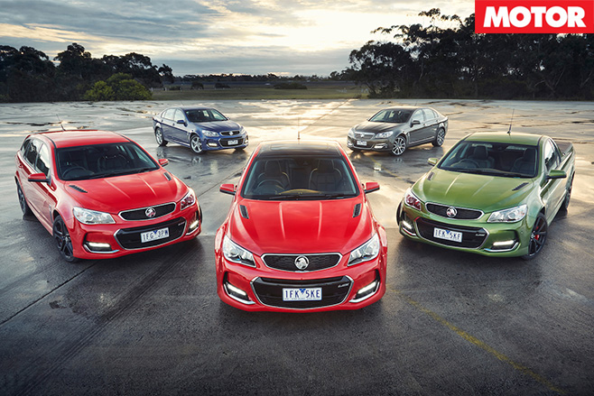 Holden commodore 2015