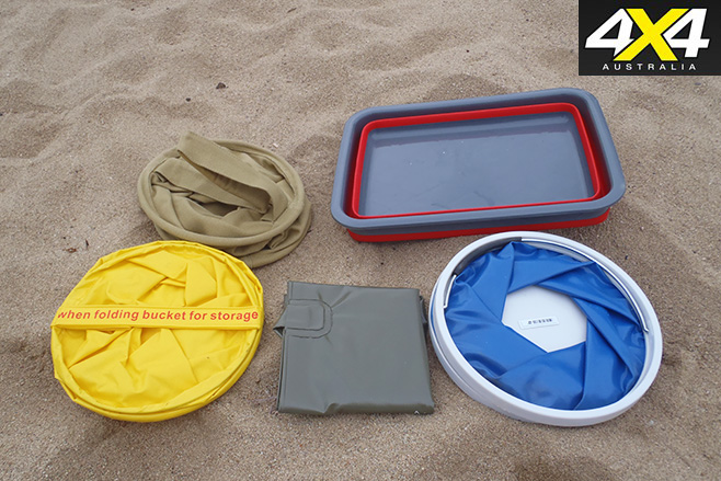 Collapsible buckets 1