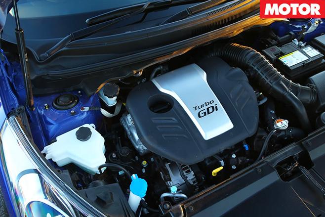 Hyundais veloster raptor turbo engine