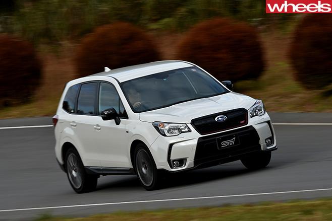 Subaru -Forester -STI-side