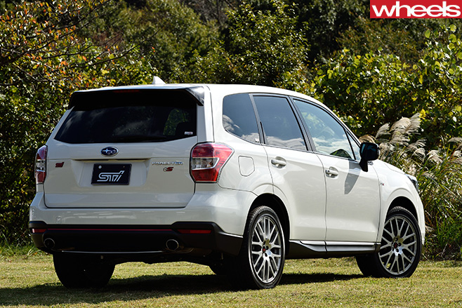 2016 Subaru Forester tS review