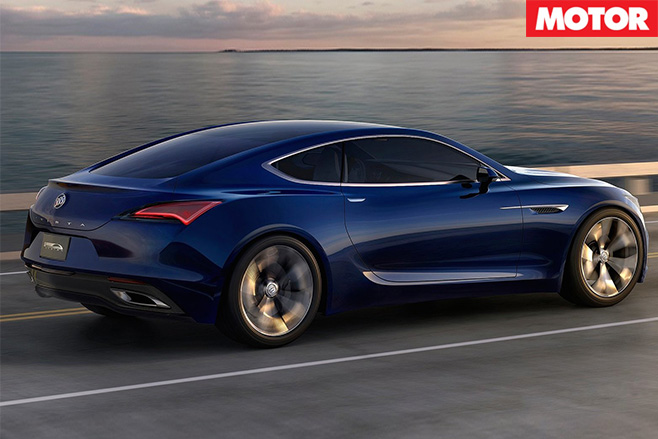 Buick Avista concept revealed rear
