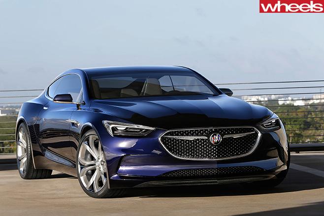 Buick -Avista -front -fascia