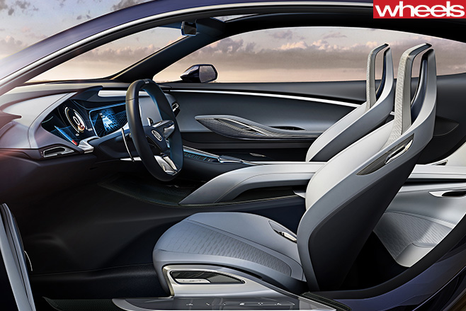 Buick -Avista -interior