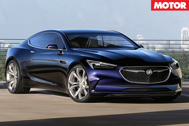 Buick Avista concept revealed front