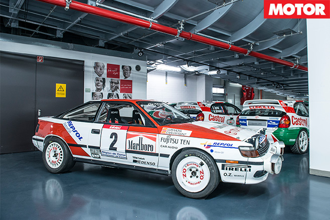 TMG rally cars celica