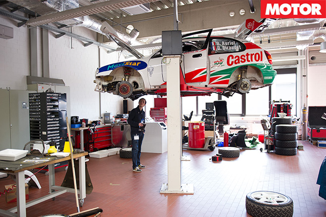 Toyota Motorsport garage