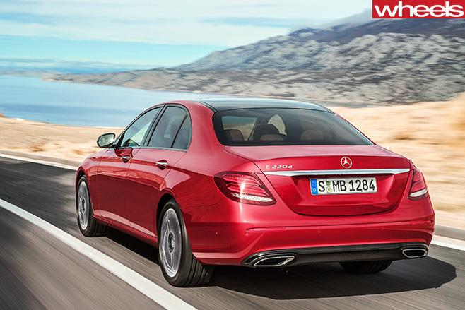 Mercedes -E-Class -Rear