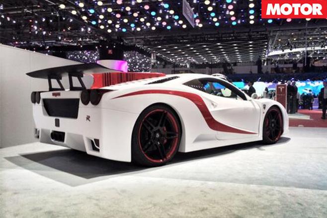 Nimrod Ferrari 458