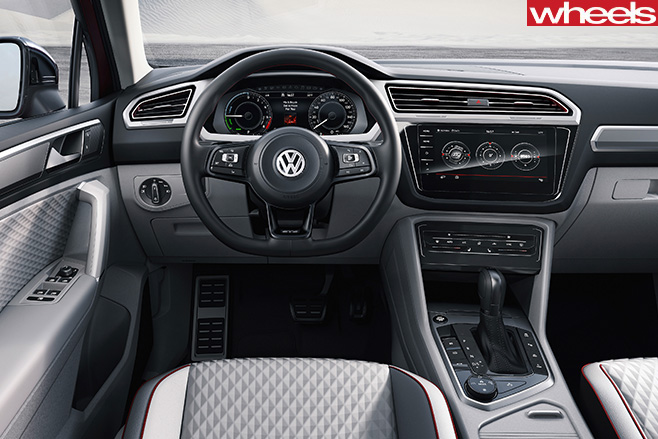VW-Tiguan -interior