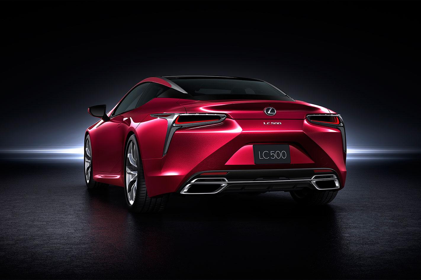 Lexus -LC-rear