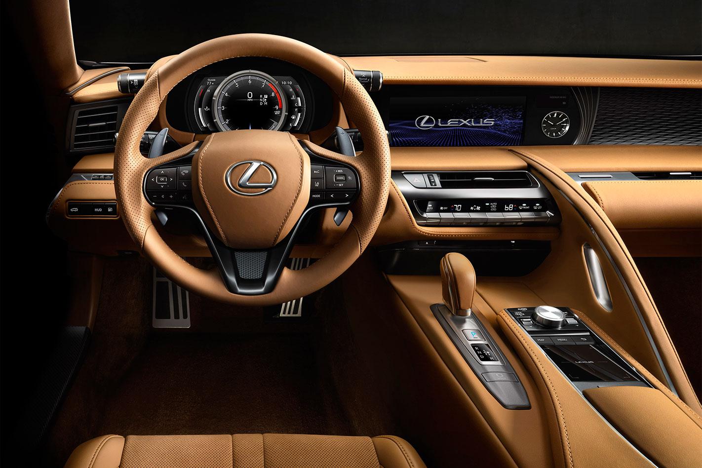 Lexus -LC-interior