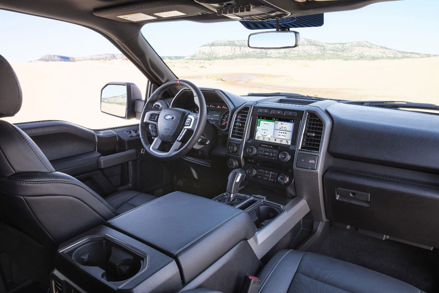 Ford -F150-Raptor -interior