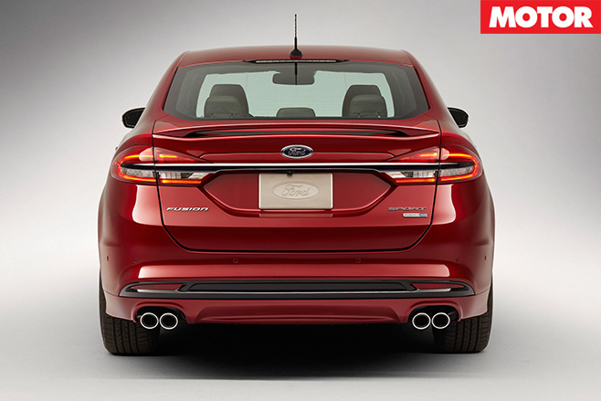 2017 ford focus sport rear