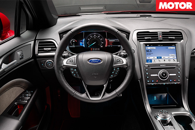 2017 ford focus sport interior