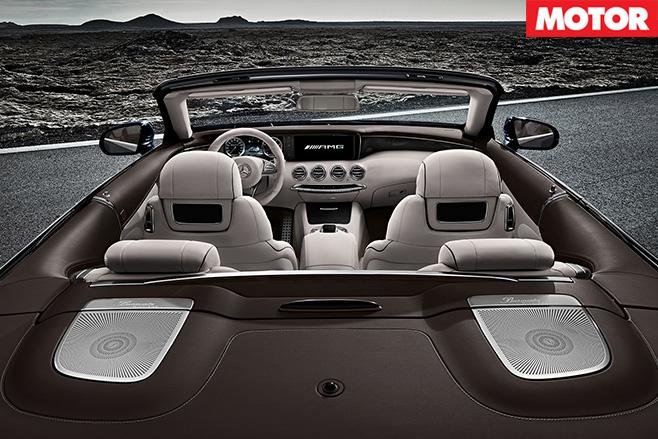 Detroit Motor Show mercedes amg S65 seats