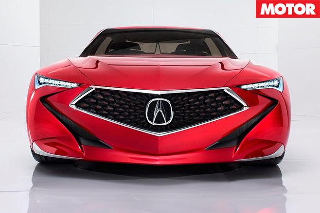 Acura Precision Concept front