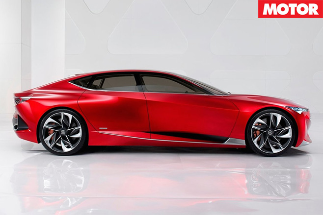 Acura Precision Concept side
