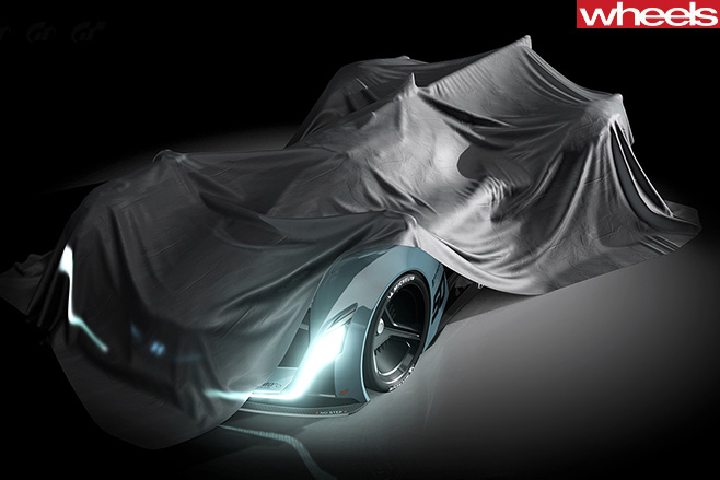 Hyundai -Supercar -headlights -front -under -wraps