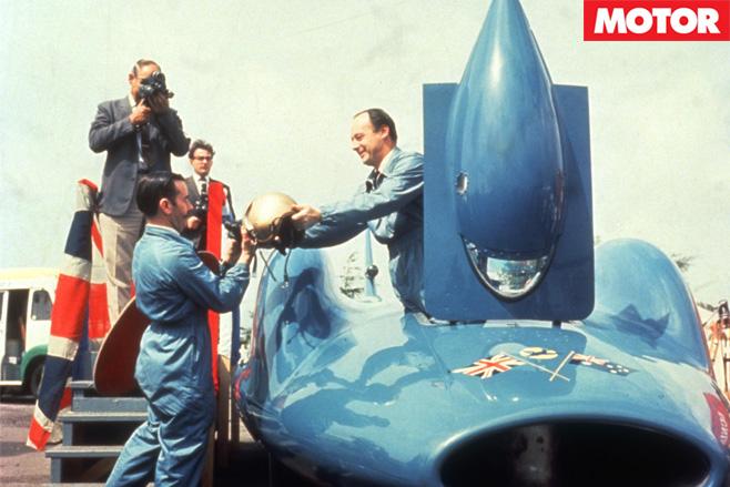 Donald campbell in bluebird