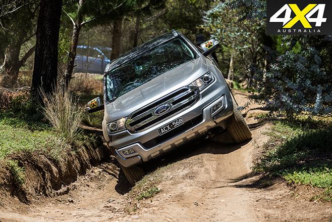 4x4OTY winner ford everest driving
