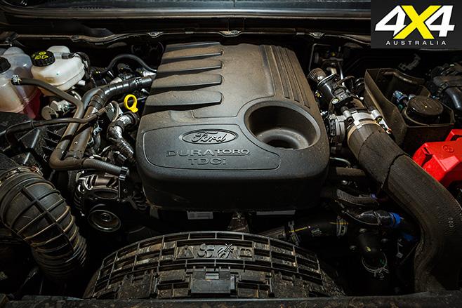 4x4OTY winner ford everest engine