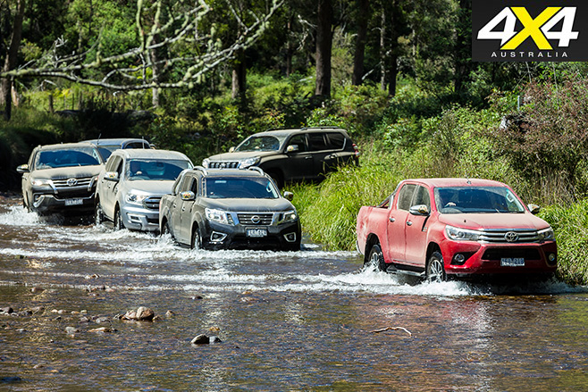 Toyota hilux v others