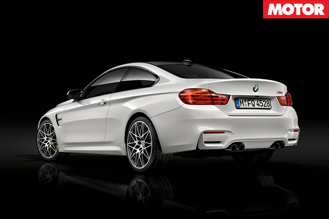 BMW Competition Pack for M3 and M4 rear