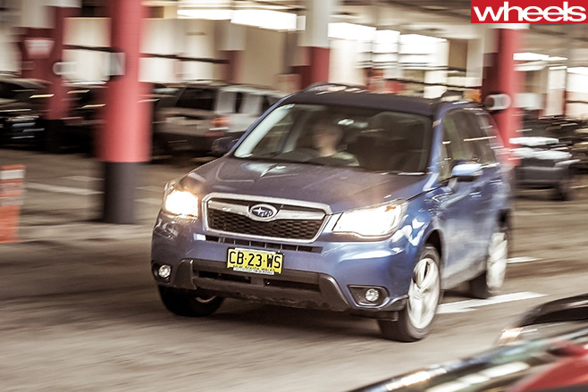 Subaru -Forester -front