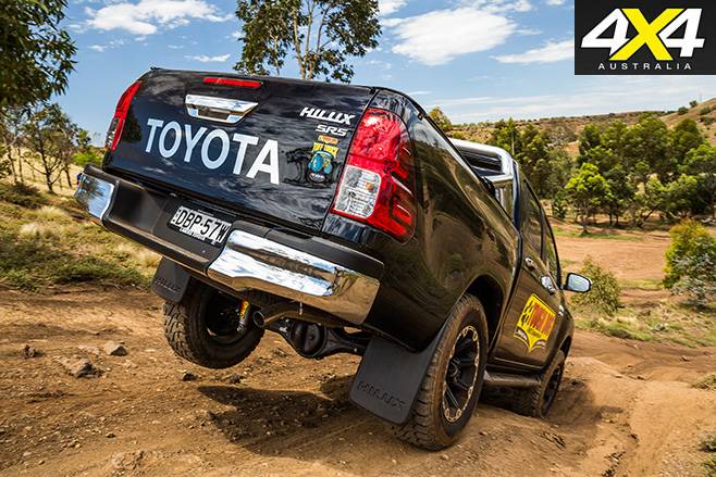 4X4OTY Tough Dog 4WD Suspension rear