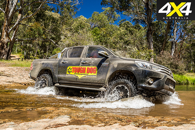 4X4OTY Tough Dog 4WD Suspension water