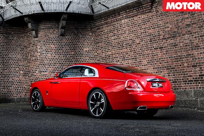 Rolls royce wraith rear