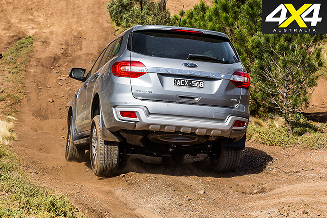 Ford everest trend dirt rear