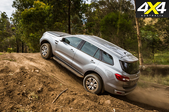 Ford everest uphill