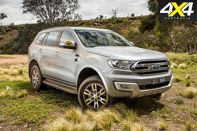 Ford everest trend dirt still