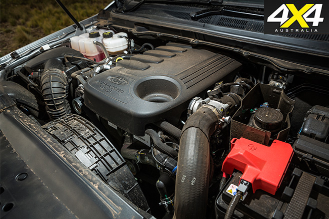 Ford everest trend engine