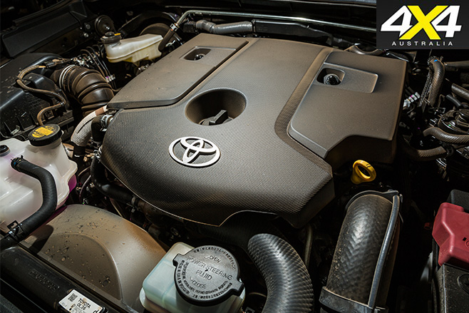 Toyota fortuner engine