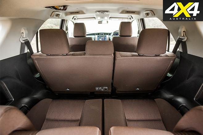 Toyota fortuner cabin