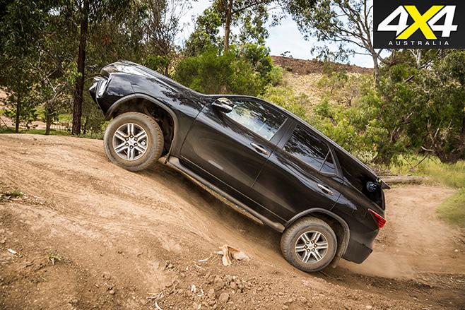 Toyota fortuner uphill