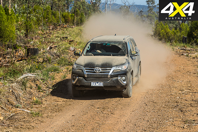 Toyota fortuner dirt