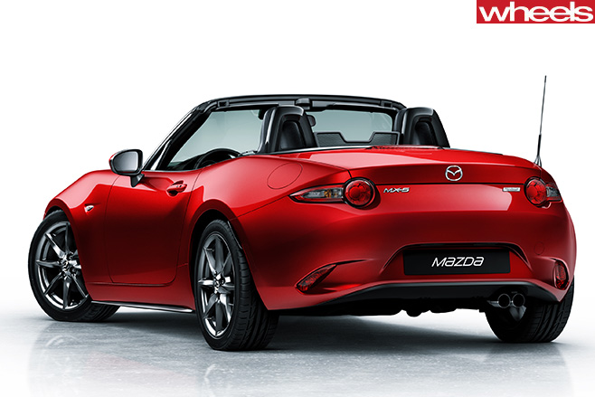 Mazda -MX-5-side -rear