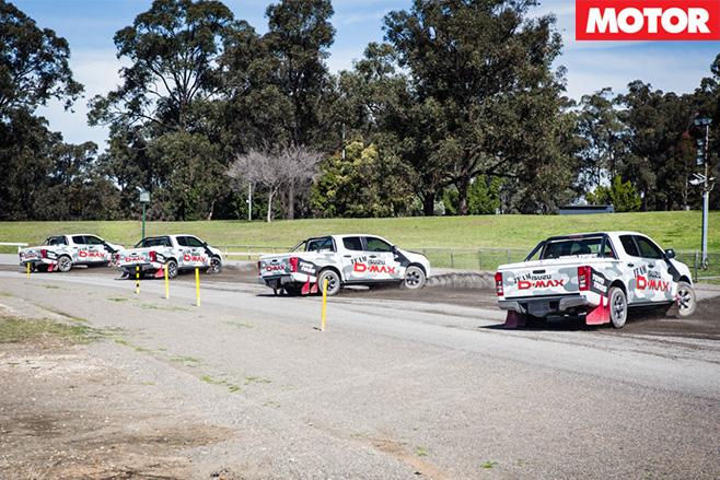 Precision stunt driving
