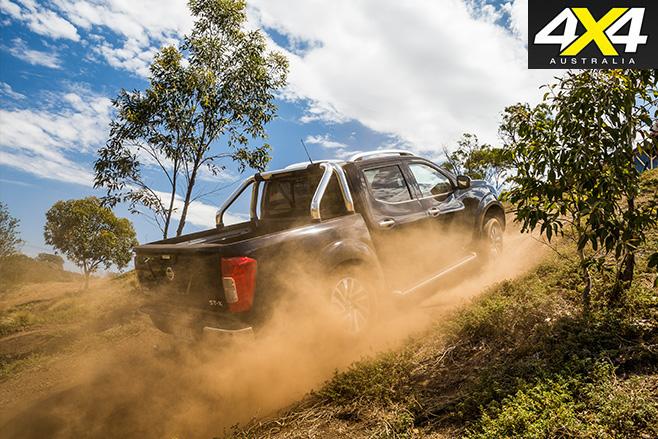 Nissan navara stx uphill